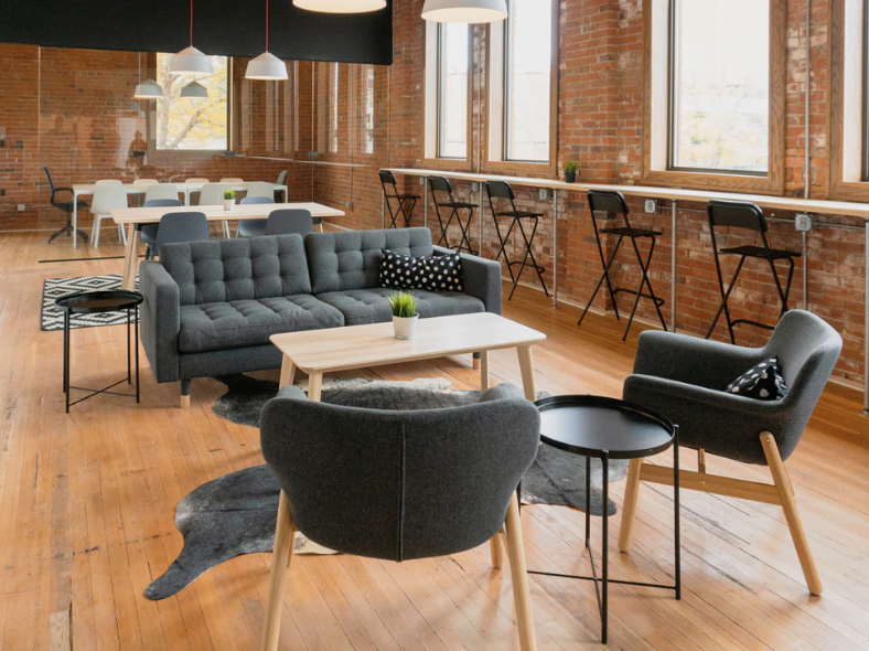 Coworking spaces are of a high calibre and by design, are inherently flexible