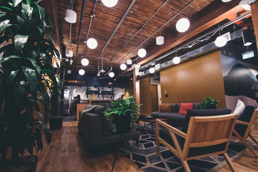 Coworking spaces are at the forefront of interior design